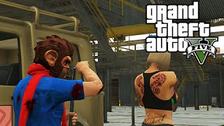 GTA 5 Online Mission: Base Invaders - Lone Survivor