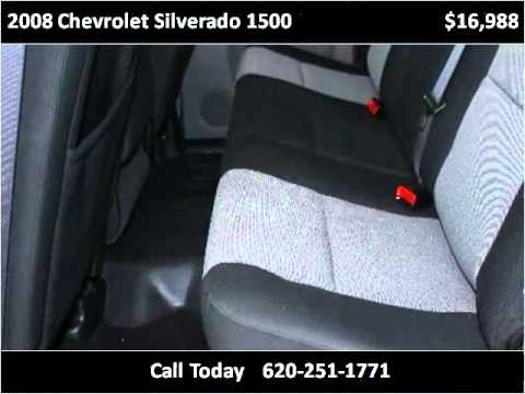2008 Chevrolet Silverado 1500 Used Cars Coffeyville KS