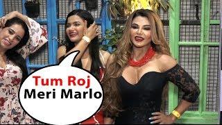 Dirt*y mind girl rakhi sawan talkin double meaning jocks