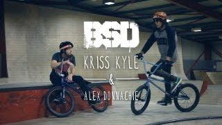 BSD BMX - Kriss Kyle & Alex Donnachie at O2