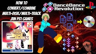 How To Convert/Combine Multi-Disc/Multi-Track Audio .BIN PS1 Games! - Works With RetroArch/PS3/Vita