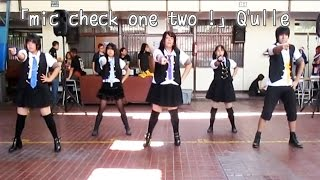 Tema/Song: Mic Check One Two - Q'ulle Evento/ Event: Anime Matsuri ...