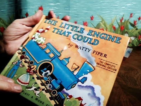 The Little Engine That Could, Children's Book, Soft Spoken Read & Chewing Gum for Relaxition, ASMR