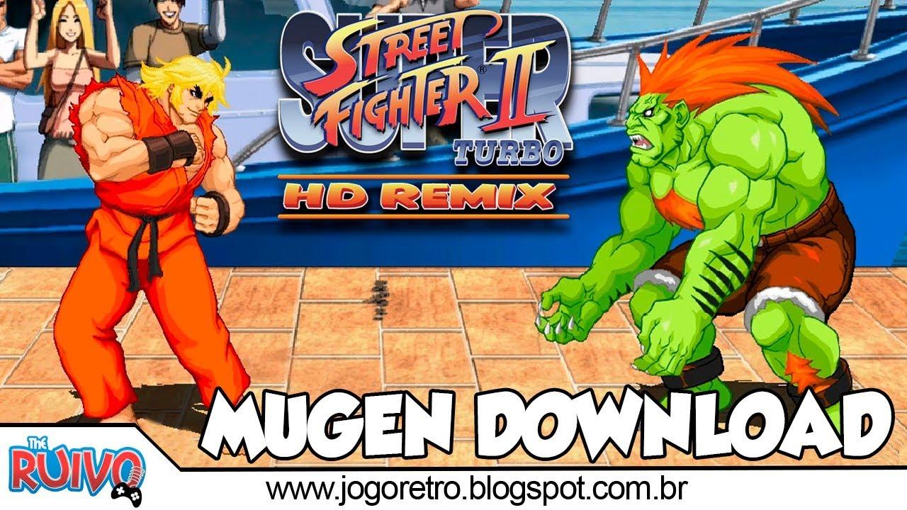 Super Street Fighter II Turbo HD Remix 2018 (MUGEN 2018)