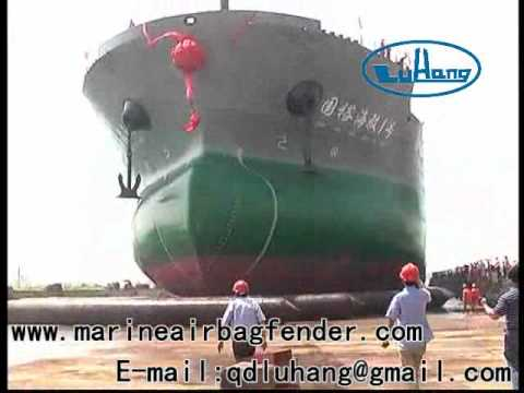 Launching 45000T ATB Vessel for Yangzhou Guoyu Shipbuilding Co., Ltd. by Qingdao LuHang