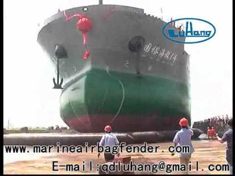 Launching 45000T ATB Vessel for Yangzhou Guoyu Shipbuilding Co., Ltd. by Qingdao LuHang