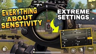 EVERYTHING ABOUT SENSITIVITY || FIND YOUR BEST SENSITIVITY || PUBG MOBILE SENSITIVITY