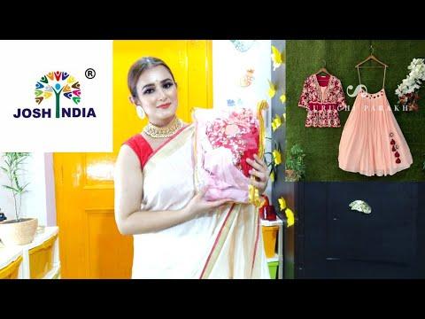 OMG😍..So Beautiful Lehenga For Engagement / Lehenga With Peplum Choli / #JoshIndia / SWATI BHAMBRA