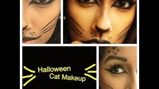 Halloween Makeup: Kitty Cat Thumbnail