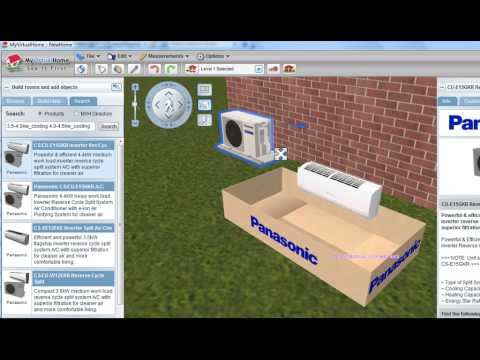 Calculating Air Conditioning Load With Myvirtualhome Youtube