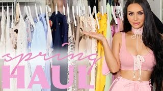 BIG SPRING FASHION HAUL | Carli Bybel