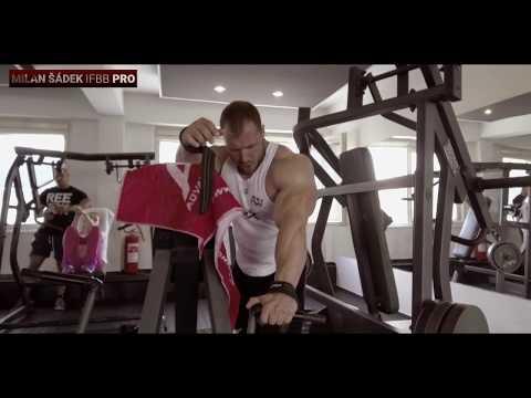 Milan Šádek - back day 8 weeks out (Olympia 2017)