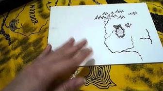 Landkarten mit der Hand zeichnen