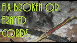Fix broken, frayed or damaged cords Splice Cords