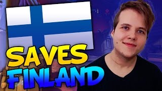 TAIMOU SAVES FINLAND! AMAZING HOOK PREDICTION! | OVERWATCH WORLD CUP BEST MOMENTS!  - Part 1
