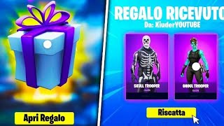 LIVE INSCRIBed RICAMBI ITA FORTNITE ..... SKIN REGALO A 600 ISCRITTI .... IF VOLAA BOYSEE