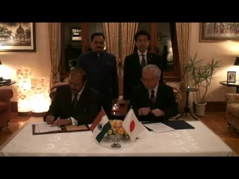 Ambassador Sujan Chinoy & DG NIID Japan Conclude LoI on AMR Research