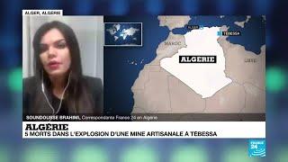 Algérie : 5 morts dans l'explosion d'une mine artisanale à Tebessa