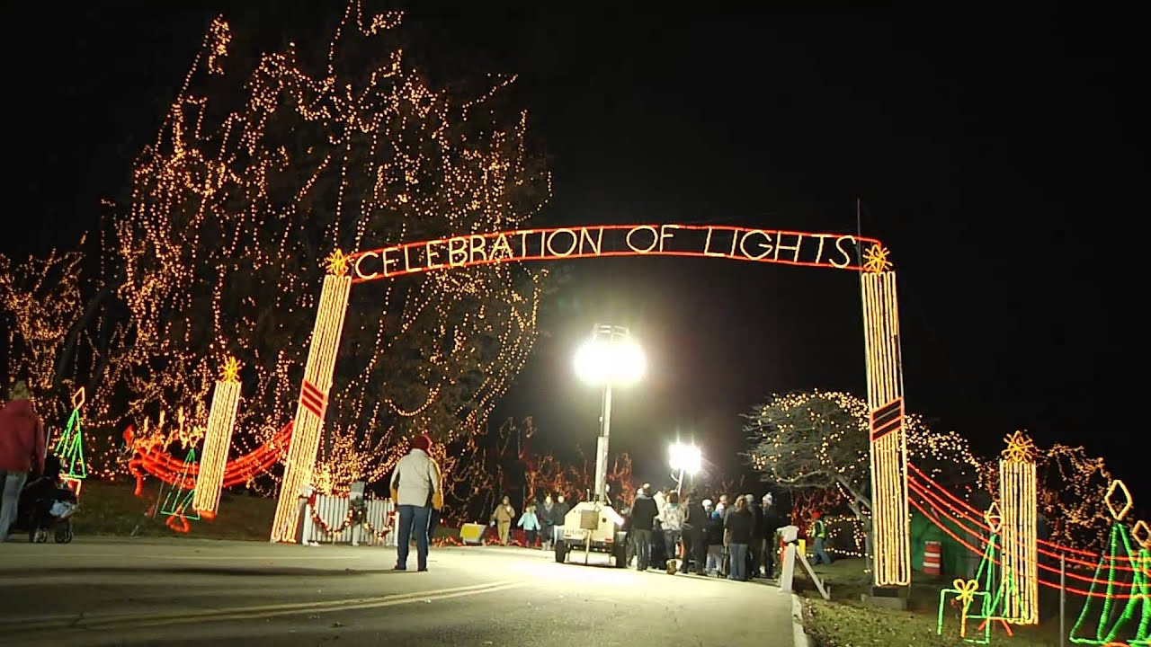 ofallontv celebration of lights ofallon missouri