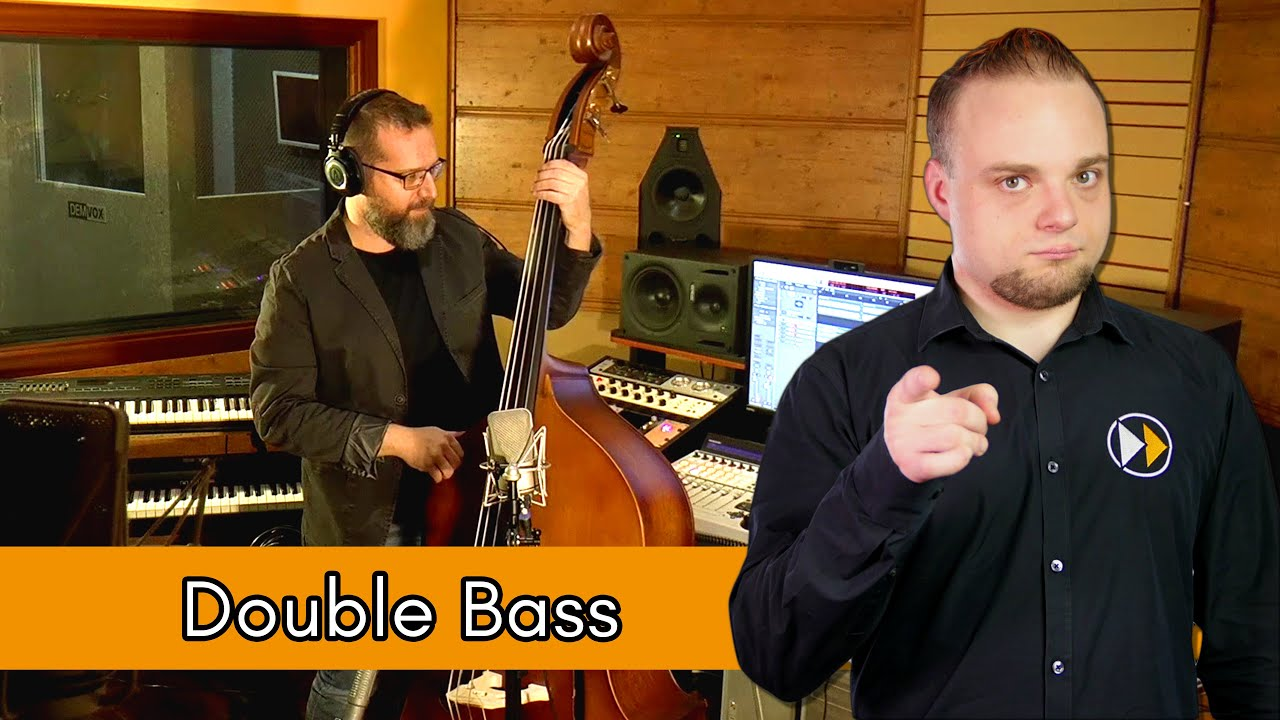 Double Bass Recording Techniques - Phase Alignment, Recording & Mixing  Double Bass - faTutorial #004
