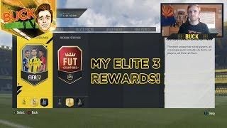 My Elite 3 Rewards! FUT Champions Weekend League   FIFA 17