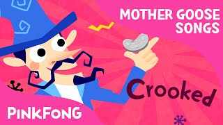 There Was a Crooked Man | Mother Goose | Nursery Rhymes | PINKFONG Songs for Children