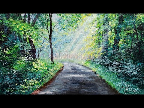 green-forest-path-landscape-acrylic-painting-live-tutorial