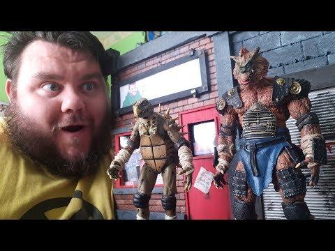 Teenage Mutant Ninja Turtles Secret Of The Ooze Tokka & Rahzar Arrowsmith Custom Figure Review