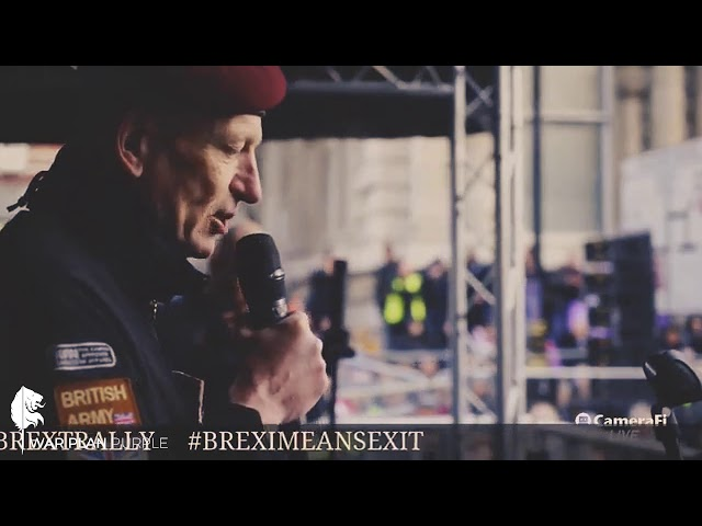 Simon Bean's Speech at the Brexit Betrayal March