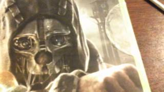 Unboxing dishonored (xbox360) in tronto