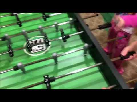 BellaDonna's Foosball Blindfold Challenges
