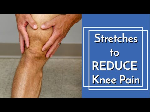 3 Gentle Stretches to Reduce Knee Pain