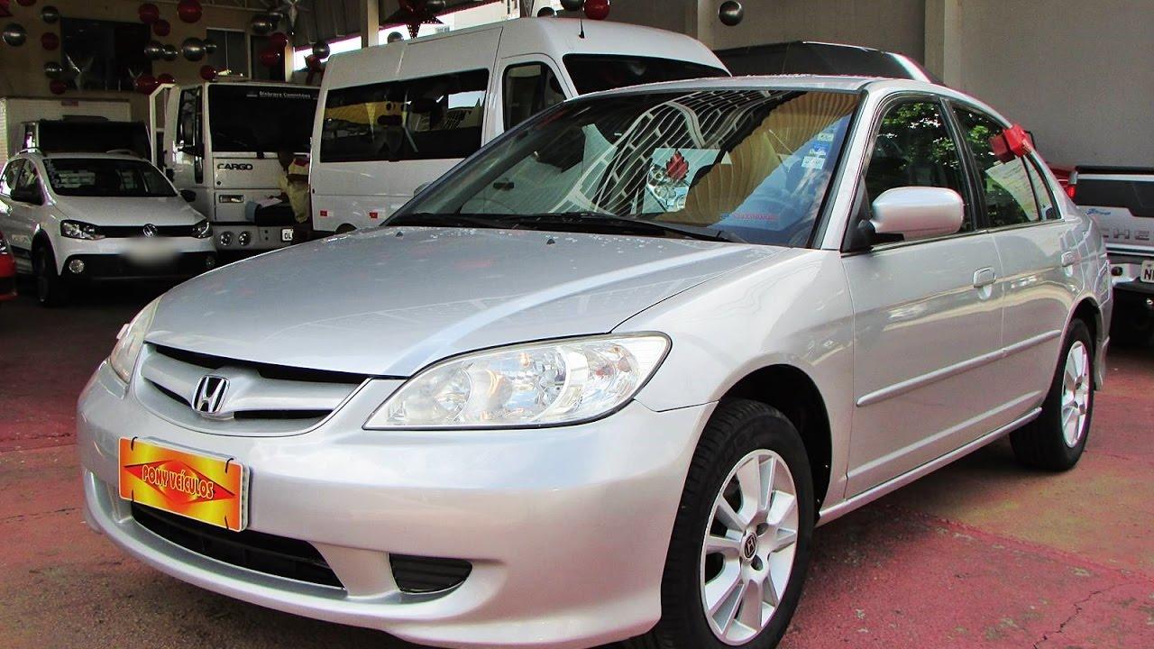 Test Drive No Civic LX 2004