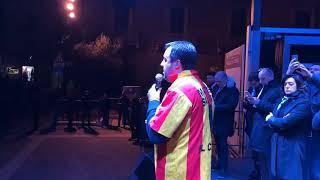 Salvini in Abruzzo: