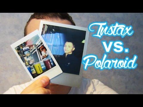 Polaroid Vs Instax >> Polaroid Photos vs. FujiFilm Instax Mini Film Photos - YouTube