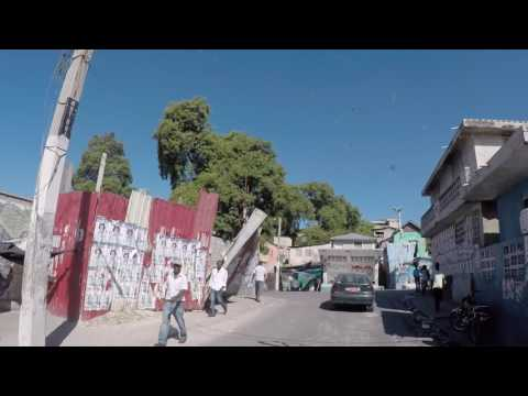 Haiti Port au Prince, Centre ville, Gopro / Haiti Port au Prince, City center, Gopro