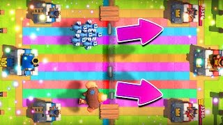 Clash Royale / DECKS OUT FOR HARAMBE / Rainbow Challenge