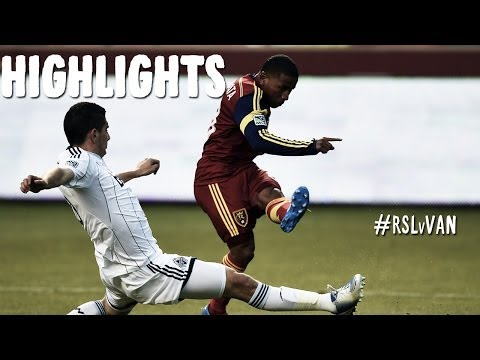 HIGHLIGHTS: Real Salt Lake vs Vancouver Whitecaps | April 26th, 2014