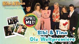 Bibi & Tina 4 TOHUWABOHU TOTAL - Kaan & Kathi auf der WELTPREMIERE vom neuen Kinofilm!
