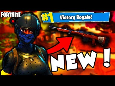 WHAT HAPPENS WHEN YOU LAND in *LUCKY LANDING* NEW POI on Fortnite Battle Royale + NEW HUNTING RIFLE!
