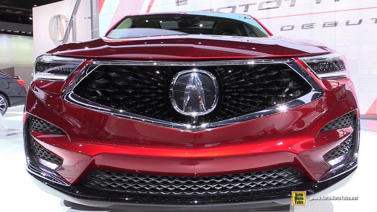 2019 Acura Rdx Exterior And Interior Walkaround 2018 Detroit