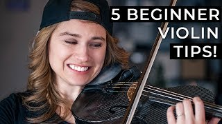 5 Things Every Begİnner Violinist NEEDS to Know