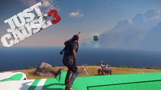 Boat from a Mech from a Plane - Just Cause 3 Stunts