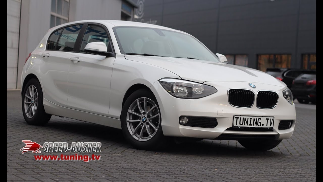 bmw 1er 116d 1 6l f20 f21 with speed buster chiptuning