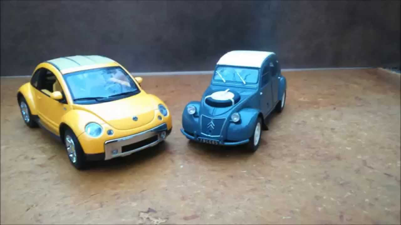 citroen 2cv sahara vw new beetle dune 1 18 youtube. Black Bedroom Furniture Sets. Home Design Ideas