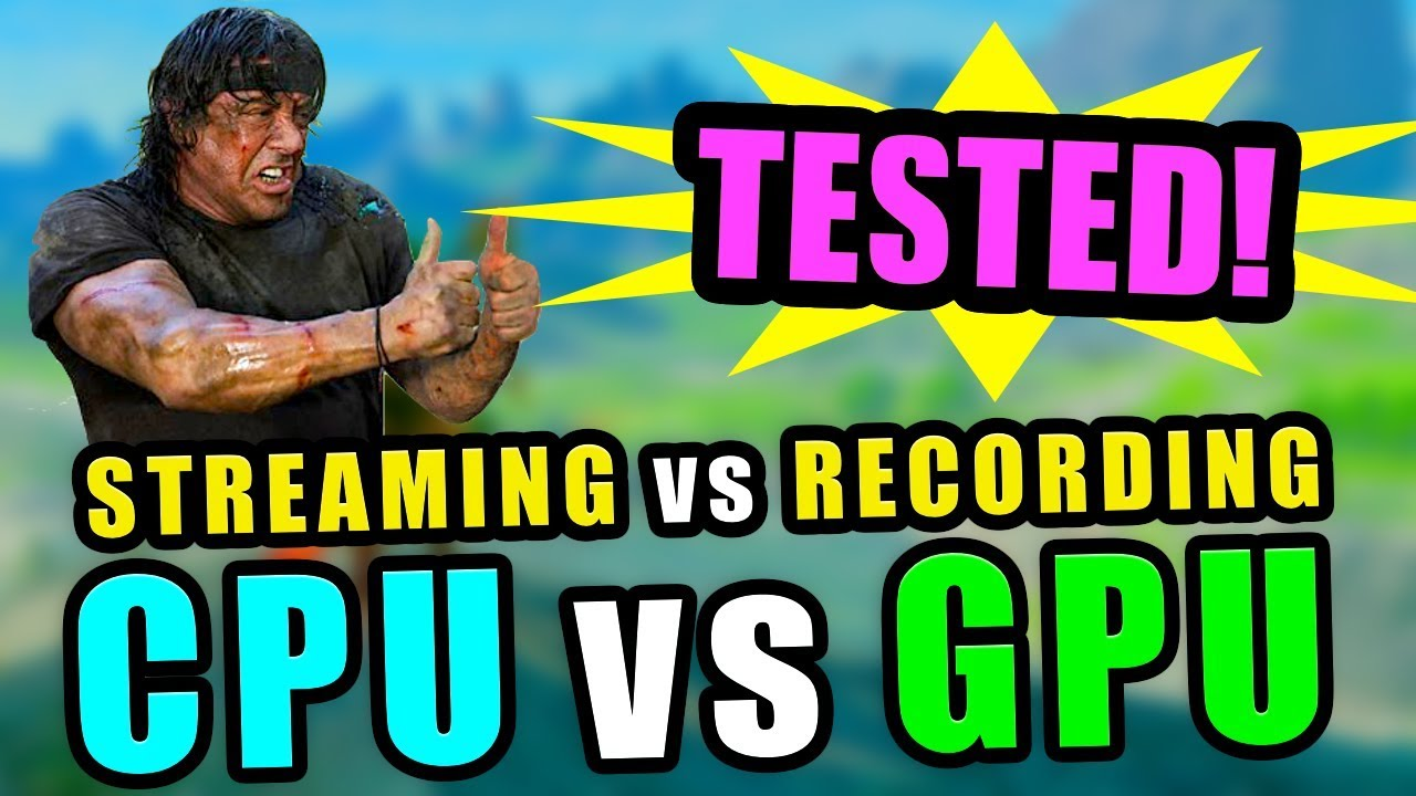BEST SETTINGS - OBS (+ others) - CPU vs GPU Video Encoding…
