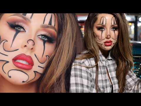Gangster Clown Makeup Tutorial CHRISSPY ft Roxette Arisa, Heather Sanders, Jenny69, Gabriel Zamora thumbnail