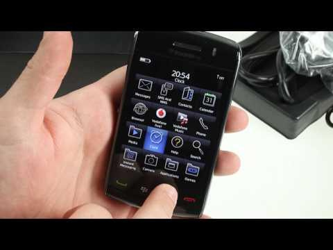 BlackBerry Storm2 9520 unboxing