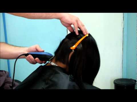Nonami nape buzz and bob cut (von erikcapes) | ShornnapeUndercuts