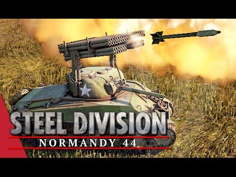 Third Herd Advances! Steel Division: Normandy 44 Beta Gameplay #24 (Omaha, 3v3)